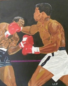 Ali Liston in Acrylic